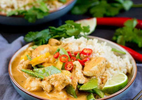 curry thailandais