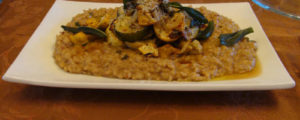 Risotto sauge noyer