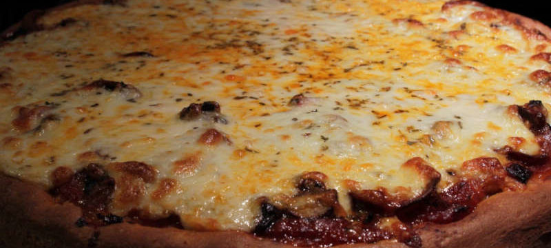 la fameuse pizza de Chicago